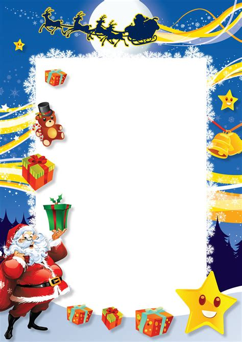 Blank Letter From Santa Template blank santa letters new calendar template site