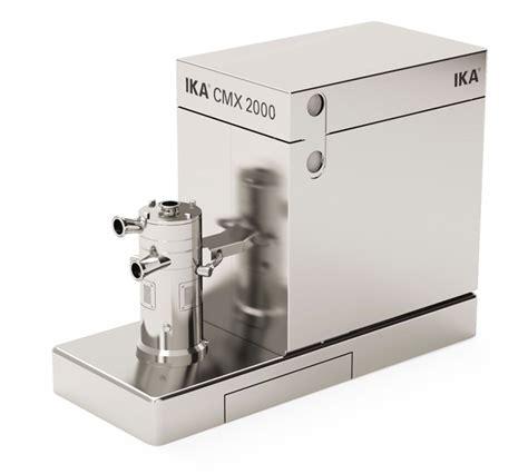 Mixer Cmx 07 ika works cmx inline solid liquid mixer