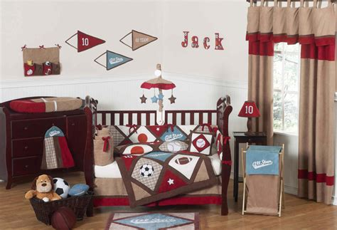 sports themed baby room decor top baby boy room ideas