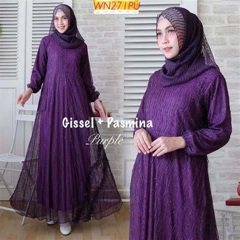 Maxi Gamis gamis modern maxi gissel