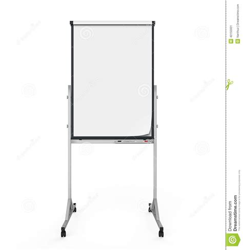 How To Make A Flip Chart With Paper - flip chart paper and board stock illustration