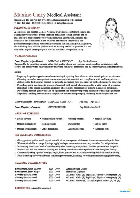 medical assistant resume template 24 best assistant sle resume templates wisestep