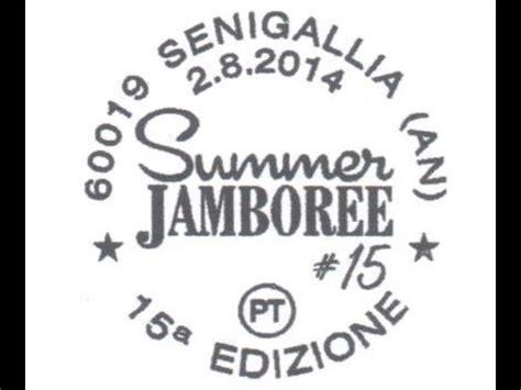 ufficio postale senigallia annullo filatelico per summer jamboree mymovies it