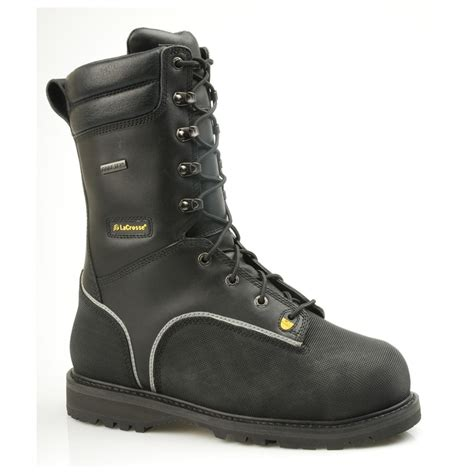 mining boots s lacrosse 174 10 quot longwall metatarsal leather mining