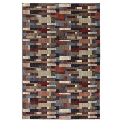 mohawk home groves mesquite 8 ft x 10 ft area rug 388638