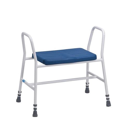 Height Adjustable Perching Stool by Bariatric Perching Stool Height Adjustable With Tubular