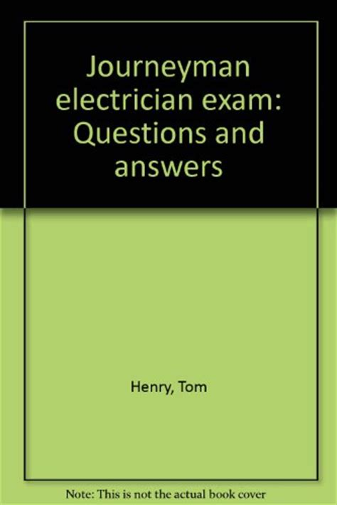 read journeyman electrician questions and answers by tom henry downloadfreeonline