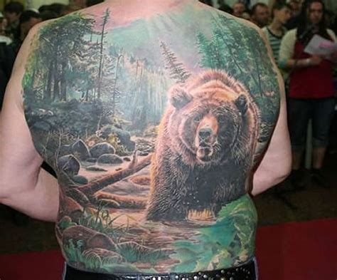 best tattoos for men nature tattoo