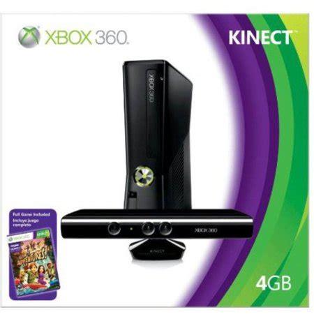 xbox 360 4gb console xbox 360 4gb console w kinect walmart