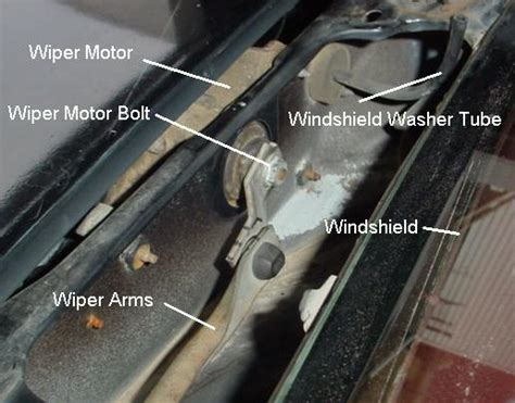 solved how do i remove the windshield wiper motor from a fixya how to remove a wiper motor impremedia net