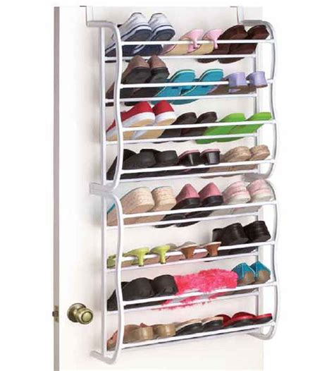 24 pair closet shoe rack in the door shoe racks