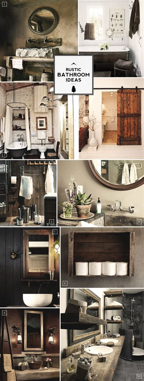 Rustic Bathroom Decorating Ideas by Rustic Bathroom Ideas And Decor Tips Home Tree Atlas