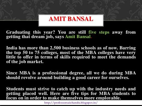 Things To Do With An Mba by How To Became An Best Out Going Students