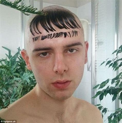 fringe haircuts gone wrong hilarious pictures show people having bad hair day daily