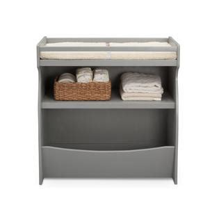 grey changing table with drawers delta children 2 in 1 changing table storage unit grey