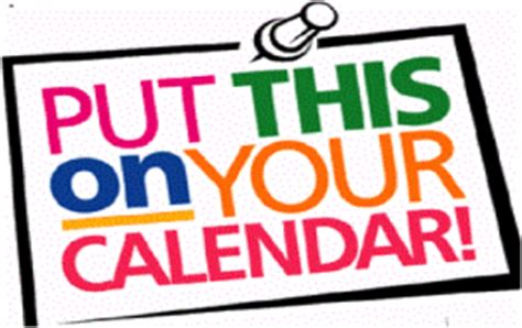Put It On Your Calendars by Innovation Events Planner Innovation Excellence