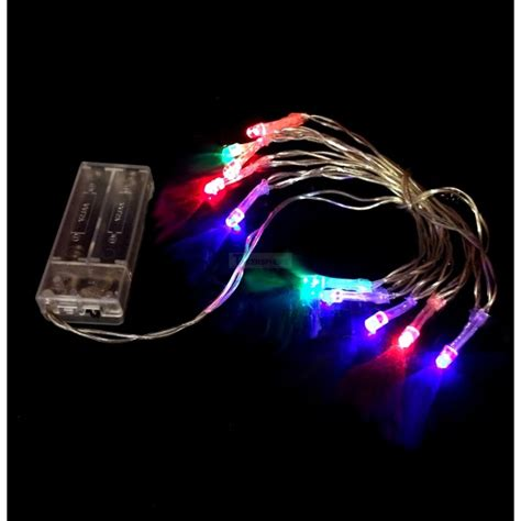 7 99 rgb 1m battery powered led string lights fairy