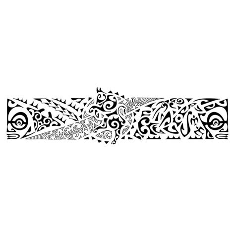 polynesian armband tattoo ideas on maori band