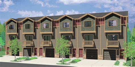 multiplex housing plans small 5 plus multiplex units multi family plans