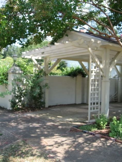 Pergola Style Carport by 1000 Images About Creative Fix For Carport Screen On