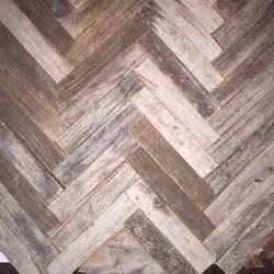 Hometalk reclaimed wood herringbone backsplash for bathroom vanity