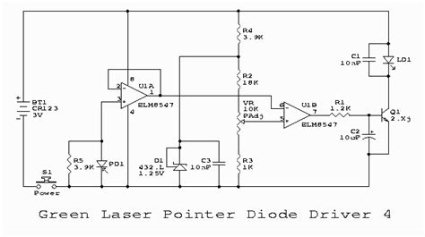 connect laser diode to driver how to connect laser diode made in an oscilloscope in ni multisim laser pointer forums