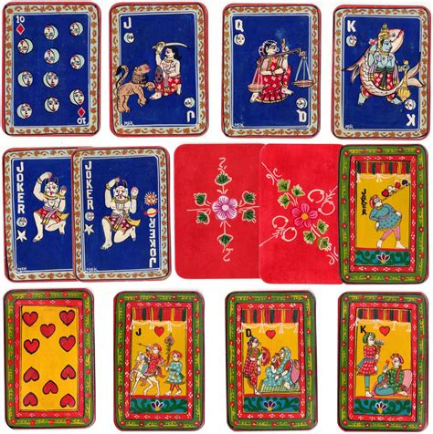 Central Gift Card India - indian ganjifa the world of playing cards