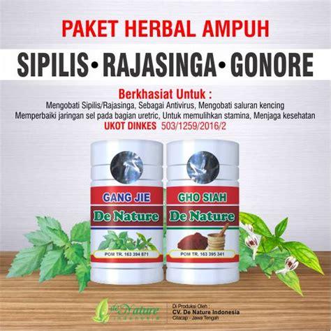Paket Obat Herbal Sipilis nama obat sipilis di apotik saran dokter obat alami de nature