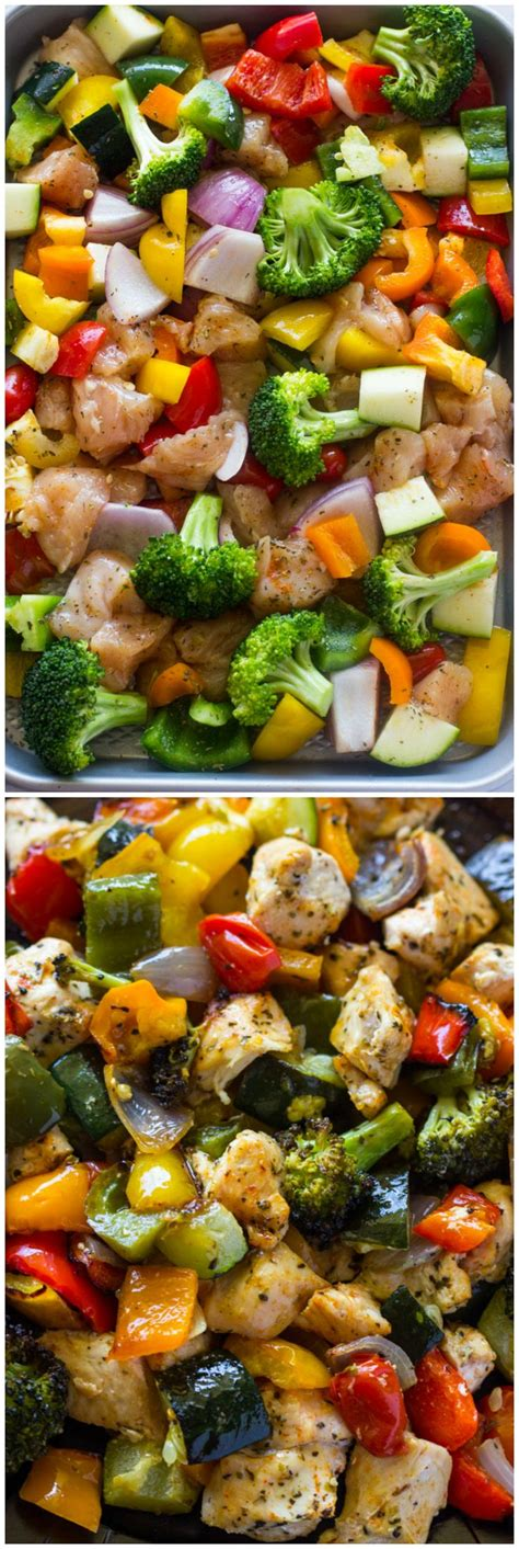 15 minute healthy roasted chicken and veggies one best 25 fit meals ideas on food prep weekly