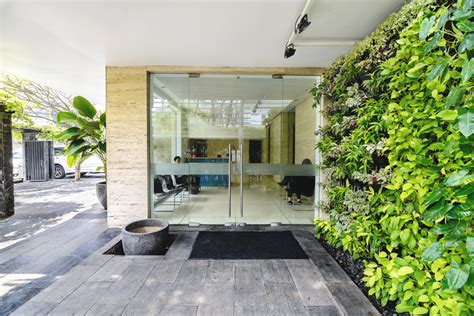 Designboom Airmas Asri | airmas asri architects adds greenery to new expanded offices