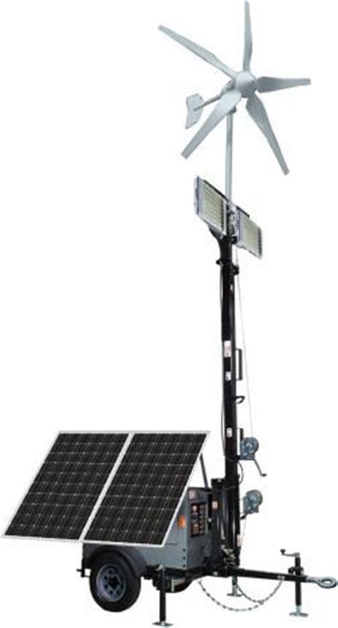 Hybrid Solar Lighting System C Trailer Picmia
