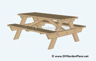 picnic table plans free pdf diy picnic table plans to build patio chair