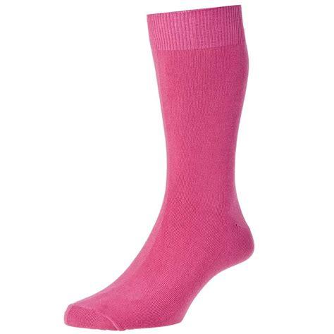 socks plain fuchsia pink s socks by hj from ties planet uk