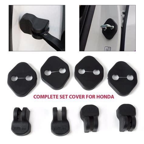 Door Lock Cover Stainless Honda Brio Mobilio Hrv Jazz Crv City Ci 1 jual harga complete set door cover for honda mobilio
