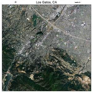 Of Los Gatos Aerial Photography Map Of Los Gatos Ca California