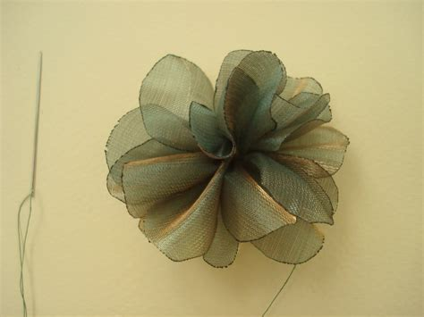 Handmade Fabric Flowers Tutorial - handmade fabric flowers and ribbon flowers organza flower