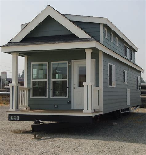 Single Story Cape Cod by Big Tiny Home On Wheels Tiny House Pins