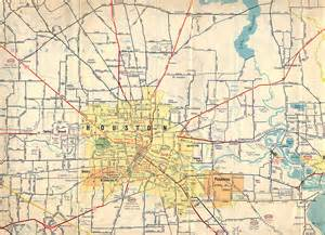 humble map texasfreeway gt houston gt historical information gt road