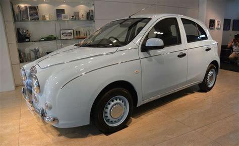 Peredam Kap Mesin Mobil Nissan March mitsuoka jepang ciptakan mobil klasik dari basis nissan march