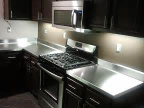 big stainless steel countertops stainless steel