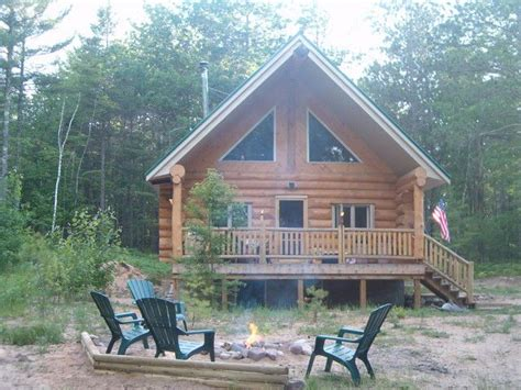 Hiawatha National Forest Cabins by Beautiful Log Cabin Nestled In The Hiawatha Homeaway