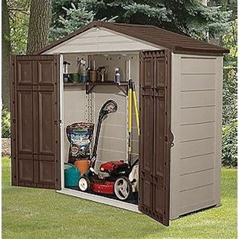Lawnmower Shed by Garden Storage Garden Storage Lawn Mower