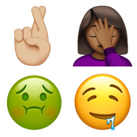 iphone emojis look new emoji in ios 10 2 click emoji
