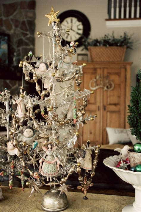 vintage christmas tree angel tree o christmas tree pinterest