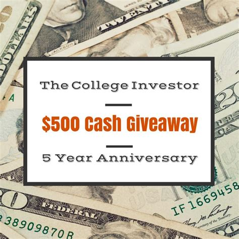 Sweepstakes Win Money - 5 year anniversary 500 cash giveaway free sweepstakes