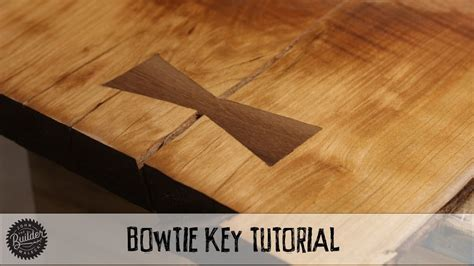 create  woodworking bowtie   router video