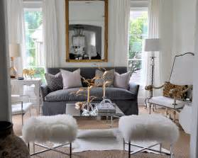 Living Room Ideas With Grey Sofa Gray Velvet Sofa Eclectic Living Room Sally Wheat Interiors