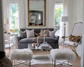 Gray velvet sofa eclectic living room sally wheat interiors