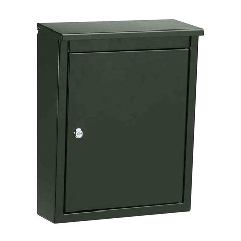 wall mounted locking locking wall mount mailbox in home mailboxes