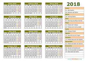 Calendario Liturgico 2018 Calendario 2018 Calendario De Espa 241 A 2018